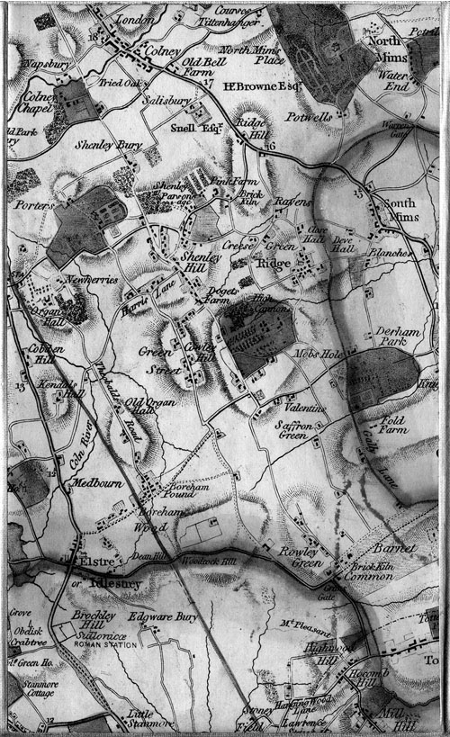 Row 4 Column 6 Of James Wyld S 1872 Map Of The Country 25